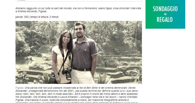 "Interview on ""Uncò Mag""!"