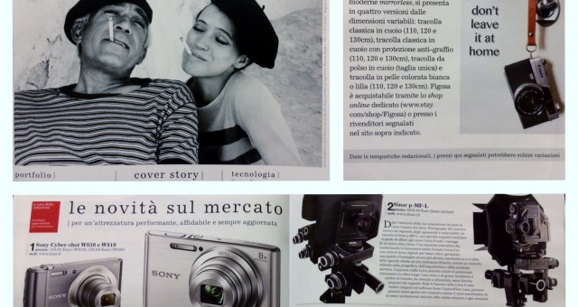 "Article about Figosa straps on ""Il Fotografo""!"