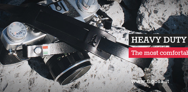"Figosa ""Heavy Duty"" camera strap: comfortable and resistant!"